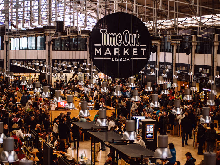 Try the best Portuguese food at Time Out Market Lisboa