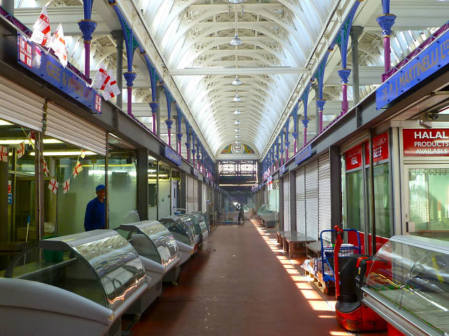 Do some late-night meat bartering at Smithfield Market