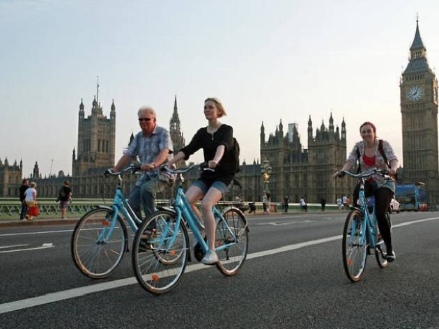 London bike tours- Classic central London