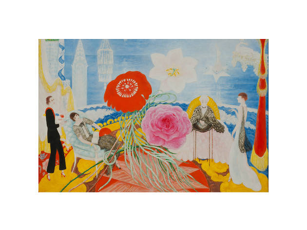 """""""Florine Stettheimer: Painting Poetry"""" issue 1102  at Jewish Museum"""