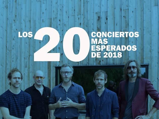 Los 20 conciertos más esperados de 2018