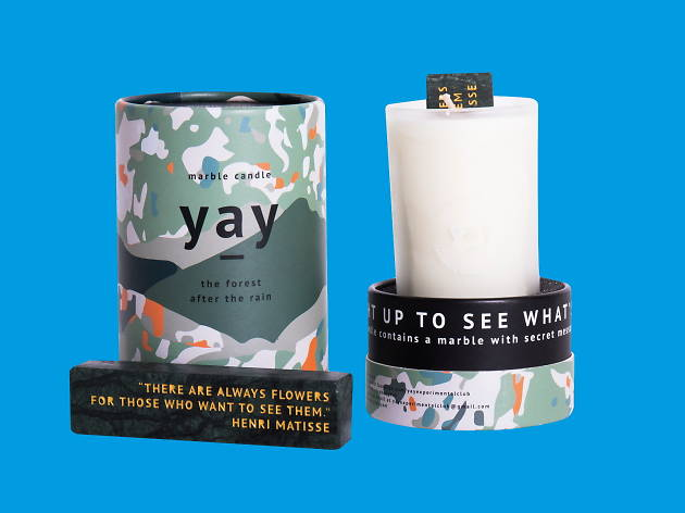 Fragrant candle, Yay, Object of Design Store, Gift Guide