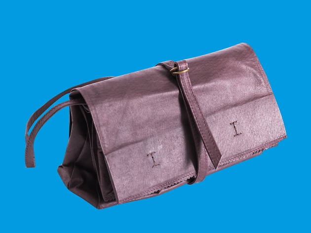 Foldable leather bag, Objects of Design Store, Gift Guide