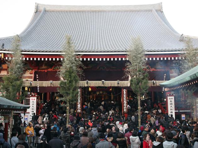 Hatsumode at Sensoji Temple | Time Out Tokyo