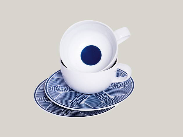 Thai textile-inspired coffee set, Objects of Design, Gift Guide