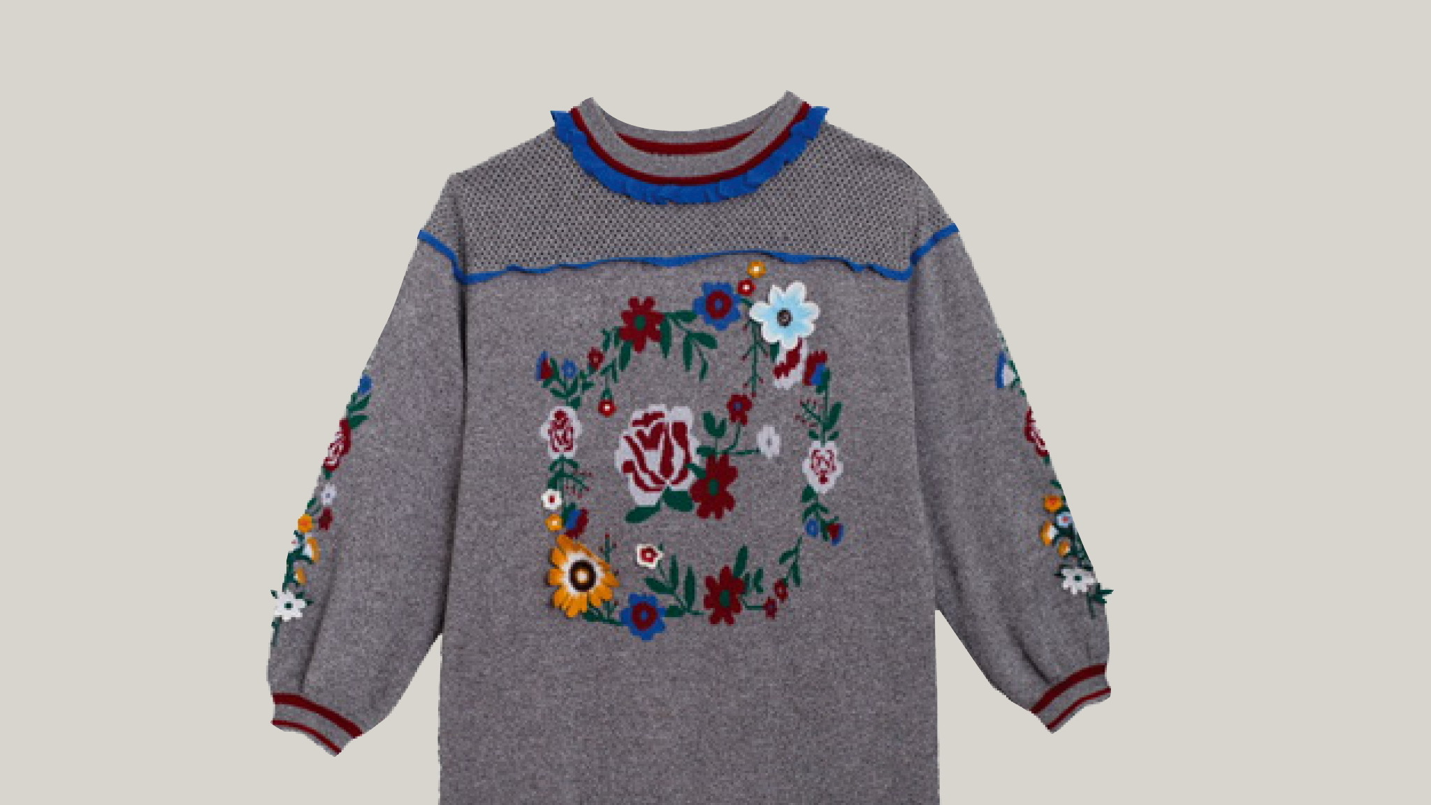 Embroidered pullover, Kloset, Gift Guide