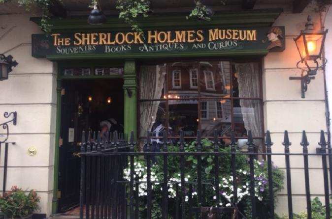London walking tours- Sherlock Holmes