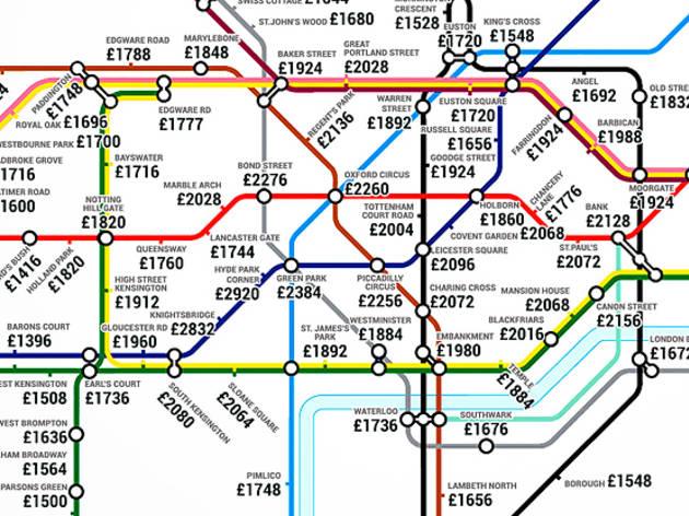 Map Of London 1600.24 Awesome Alternative London Tube Maps