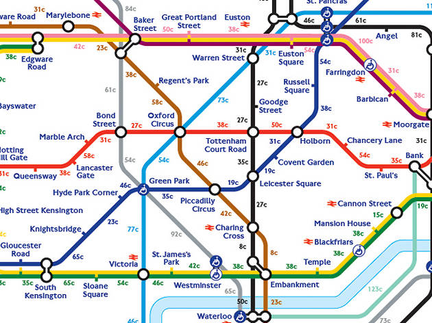 London Subway Map Russell Station.24 Awesome Alternative London Tube Maps