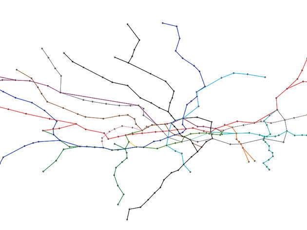 the interactive tube map