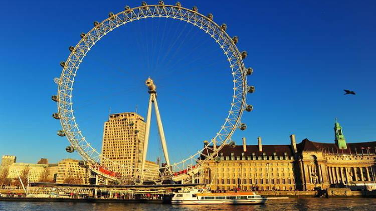 London sightseeing tours- London Eye