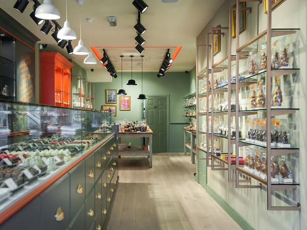 l'appetit fou chocolate shop in turnham green