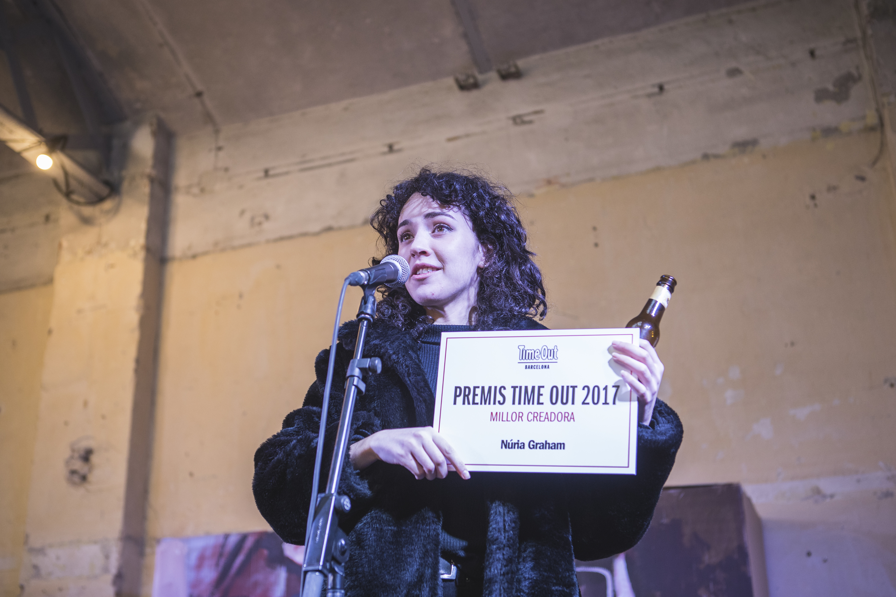 Premis Time Out 2017, Millor Creadora, Núria Graham