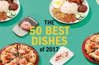 Top 50 best dishes of 2017