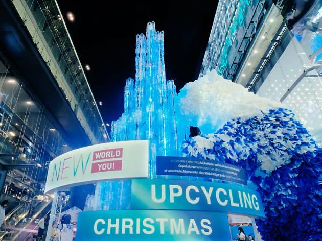 It has the city's most eco-friendly Christmas tree