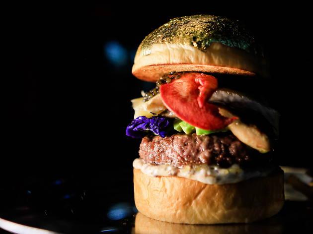 25 degree burger