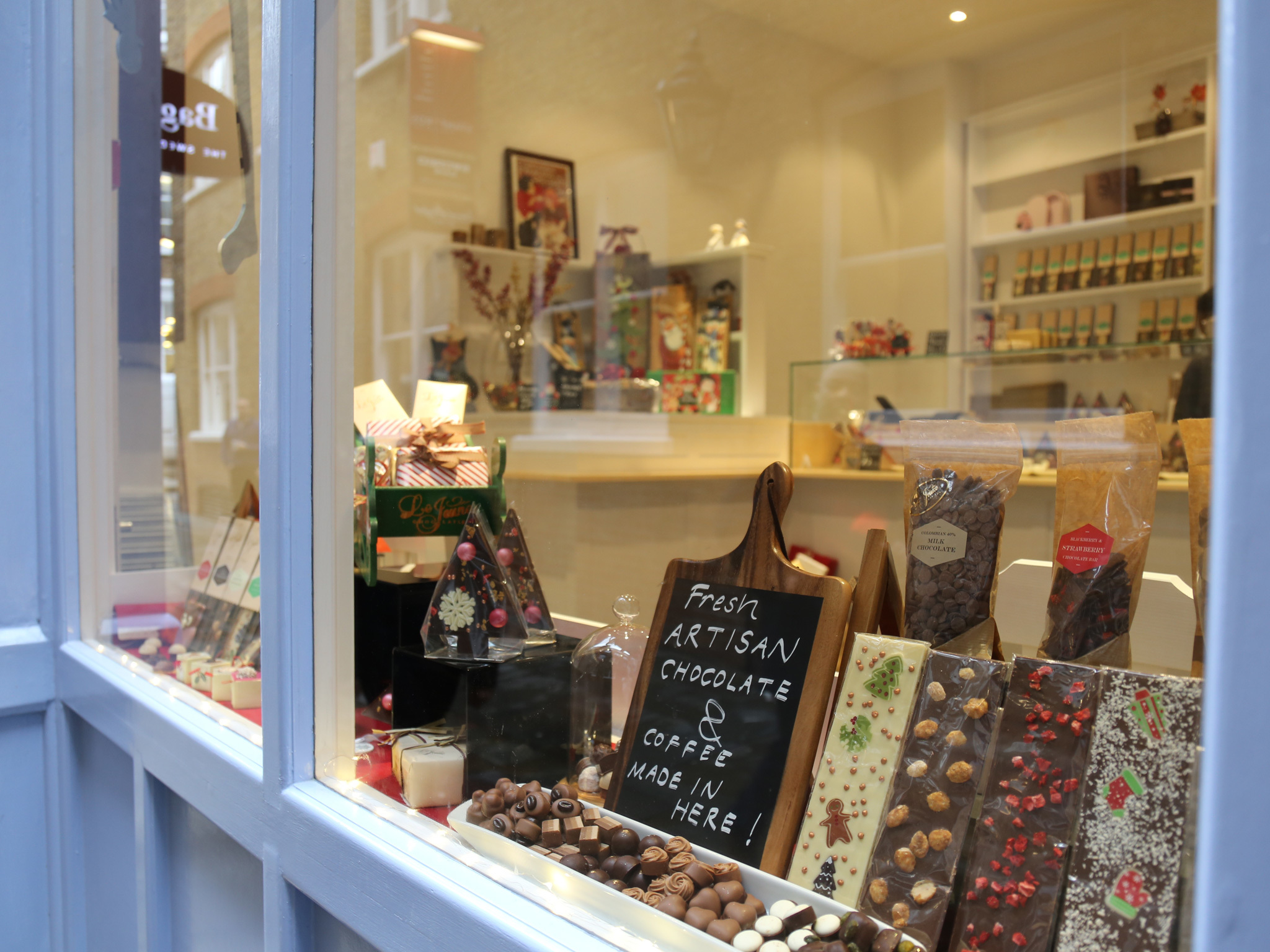 le jeune chocolatiers near covent garden