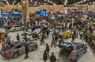 The Philadelphia Auto Show takes place each year at the Pennsylvania Convention Center