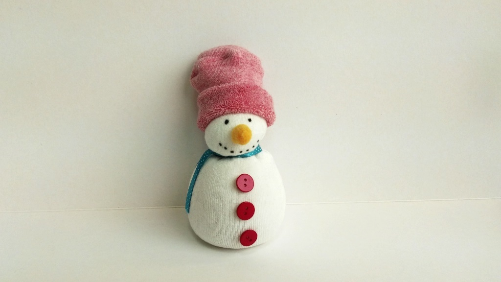 Kids DIY snowman