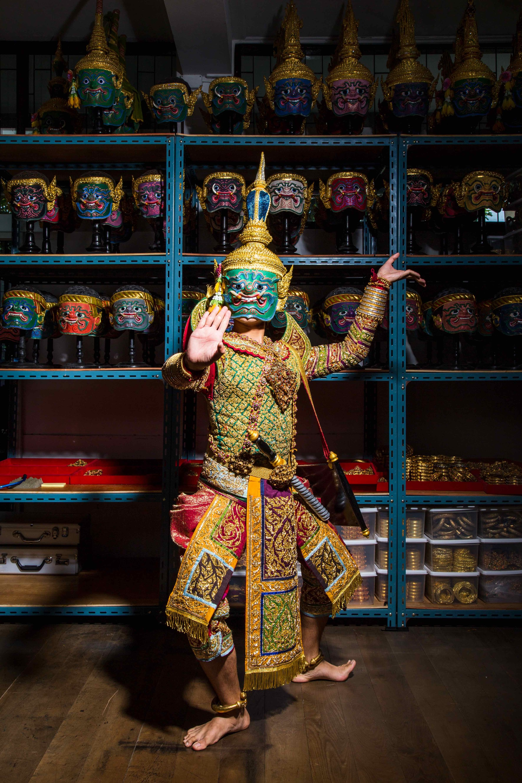 The return of the Royal Khon Performance (fingers crossed)