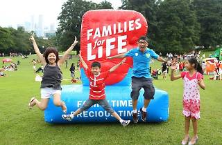 Families for Life Picnic at the Istana