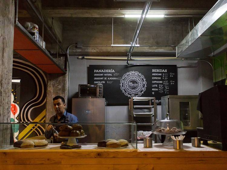 Mandala Pan y Café