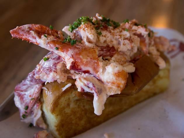 Lobster Roll from SlapFish