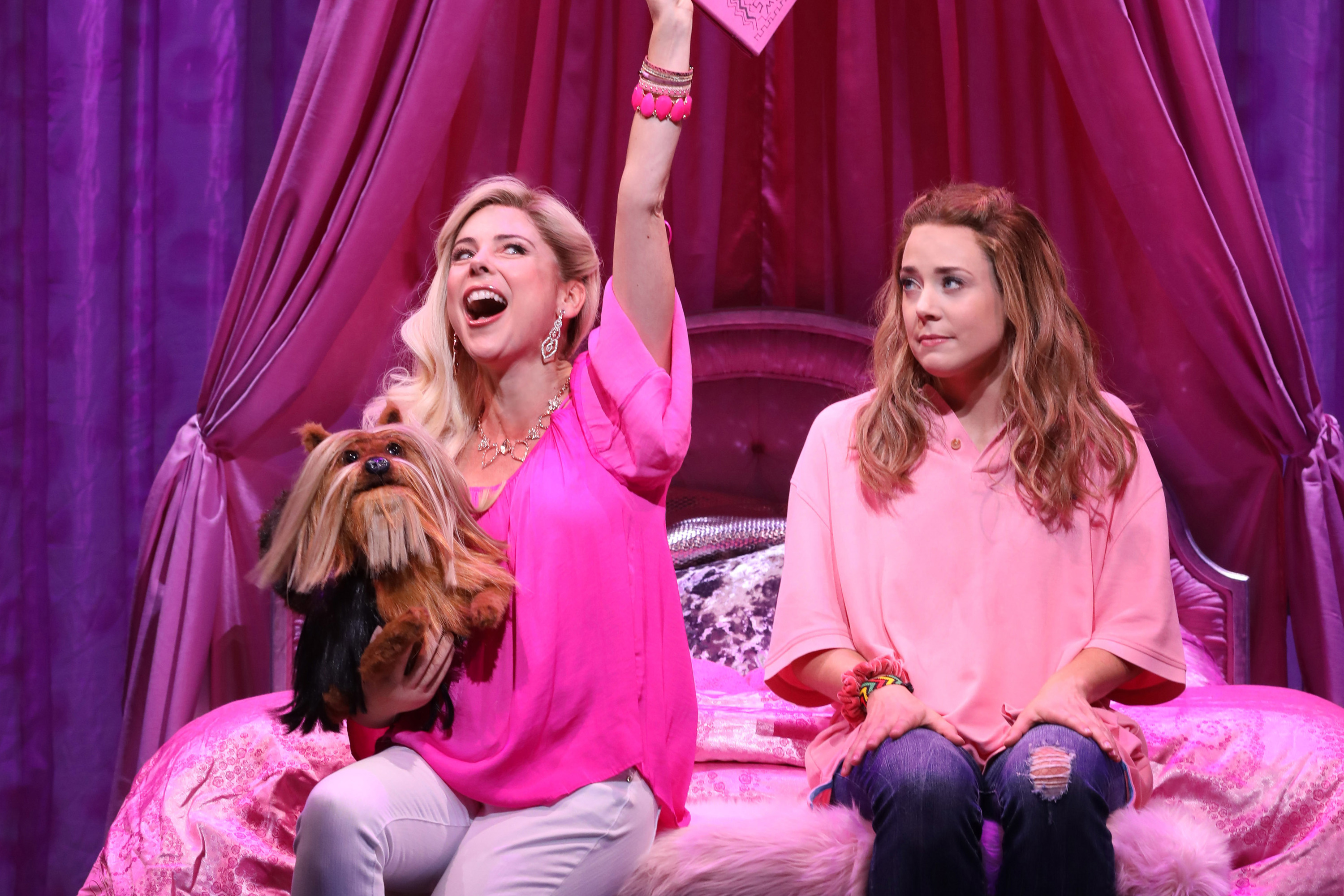 The musical based on the movie Mean Girls will soon be a movie itself