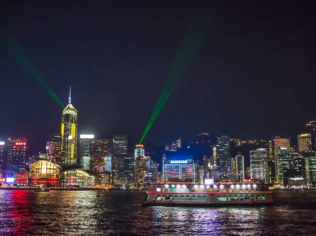 Harbour Cruise Bauhinia - NYE 2017. Picture: Michael Law