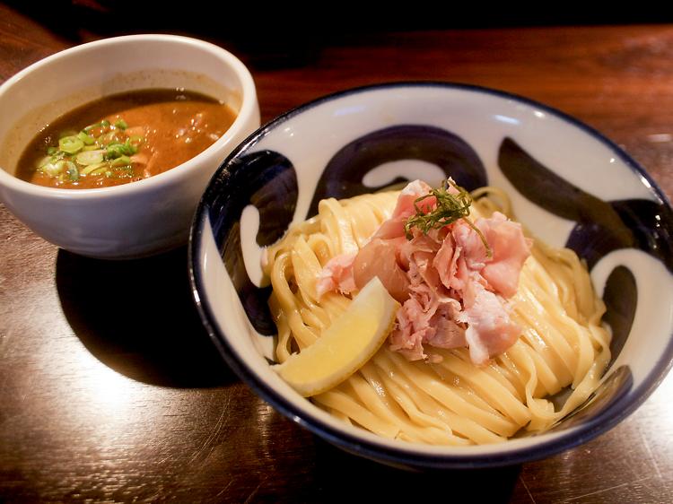 九十九里煮干つけ麺 志奈田