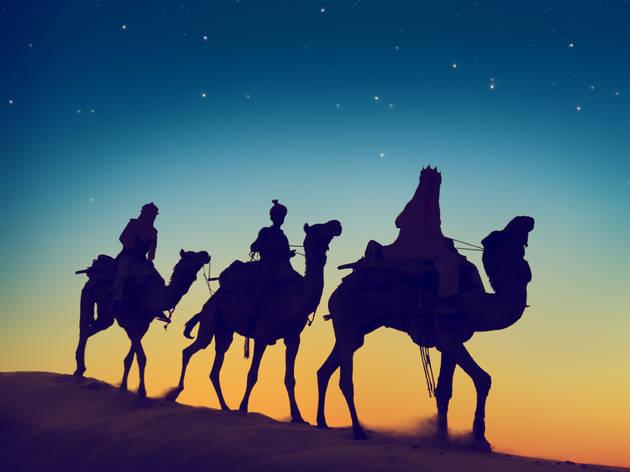 Visita dels Reis Mags a Ullà