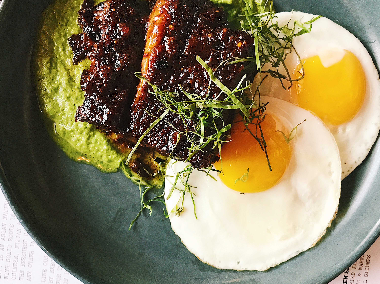 Steak & Eggs at E.P.+ L.P.