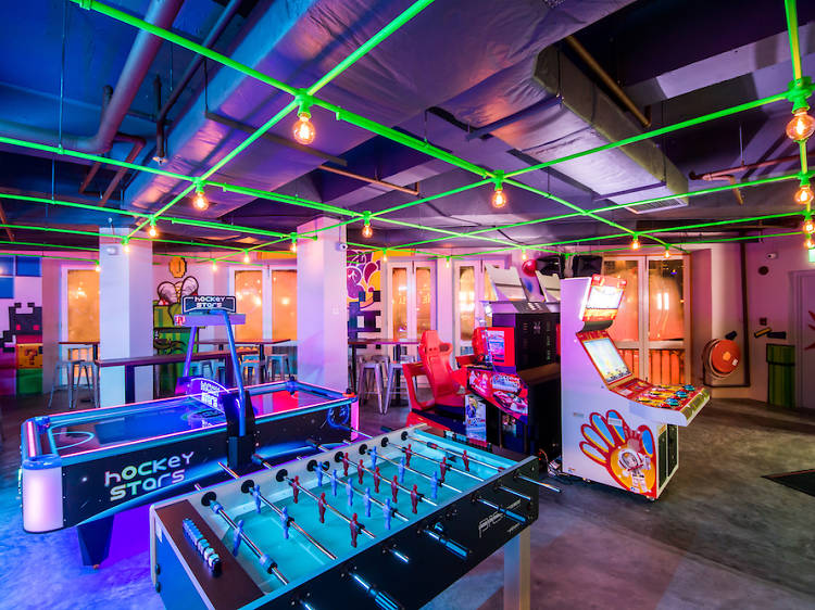 The best arcade and games bars in Singapore