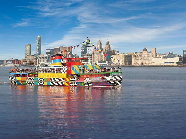 Mersey ferry river cruise