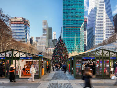 The Winter Village at Bryant Park is officially open!