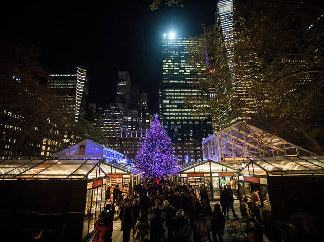 Bryant Park Winter Village 2017