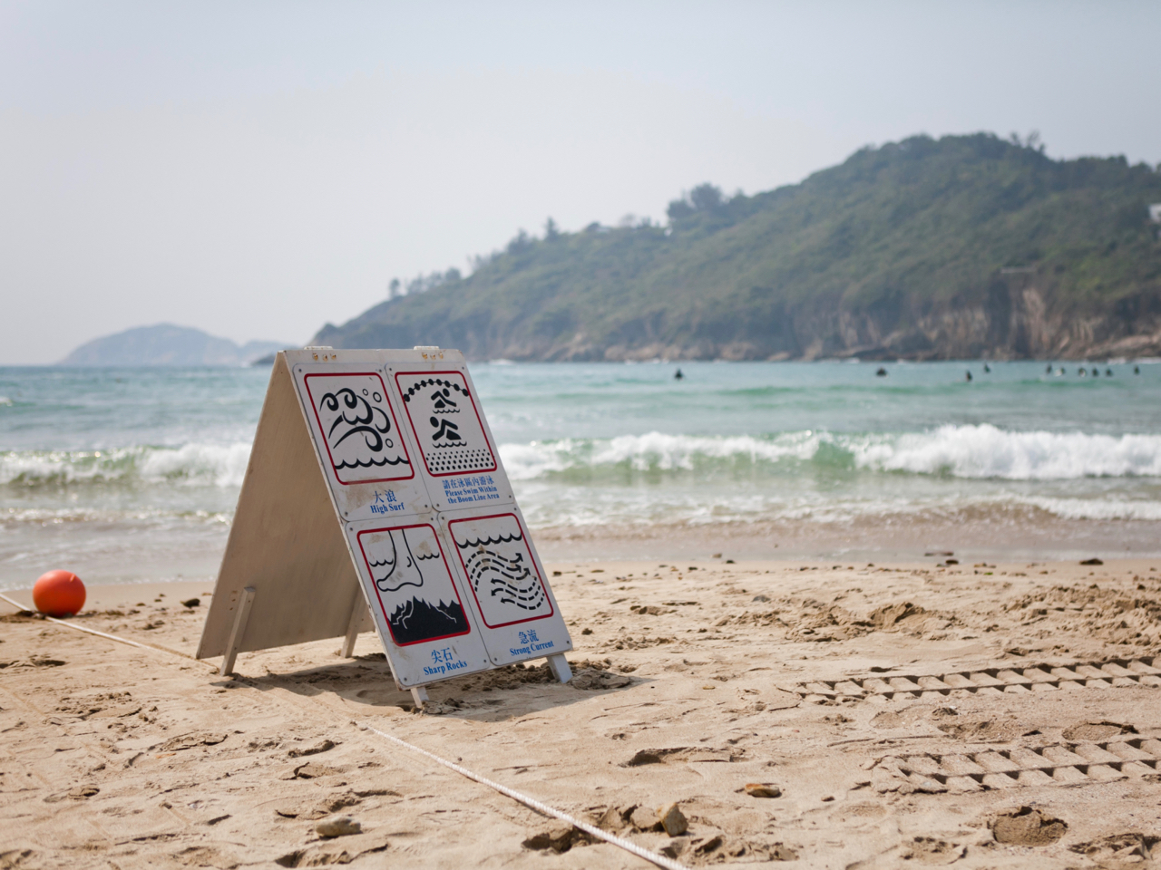 Surfing at Tai Long Wan