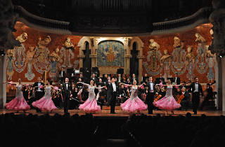 Johann Strauss – Great New Year's concert. Strauss Festival Orchestra with ballet