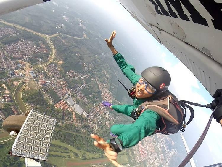 23. Skydive in Segamat, Johor