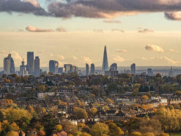 Crouch End as seen from Ally Pally