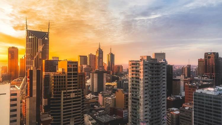 Melbourne in summer