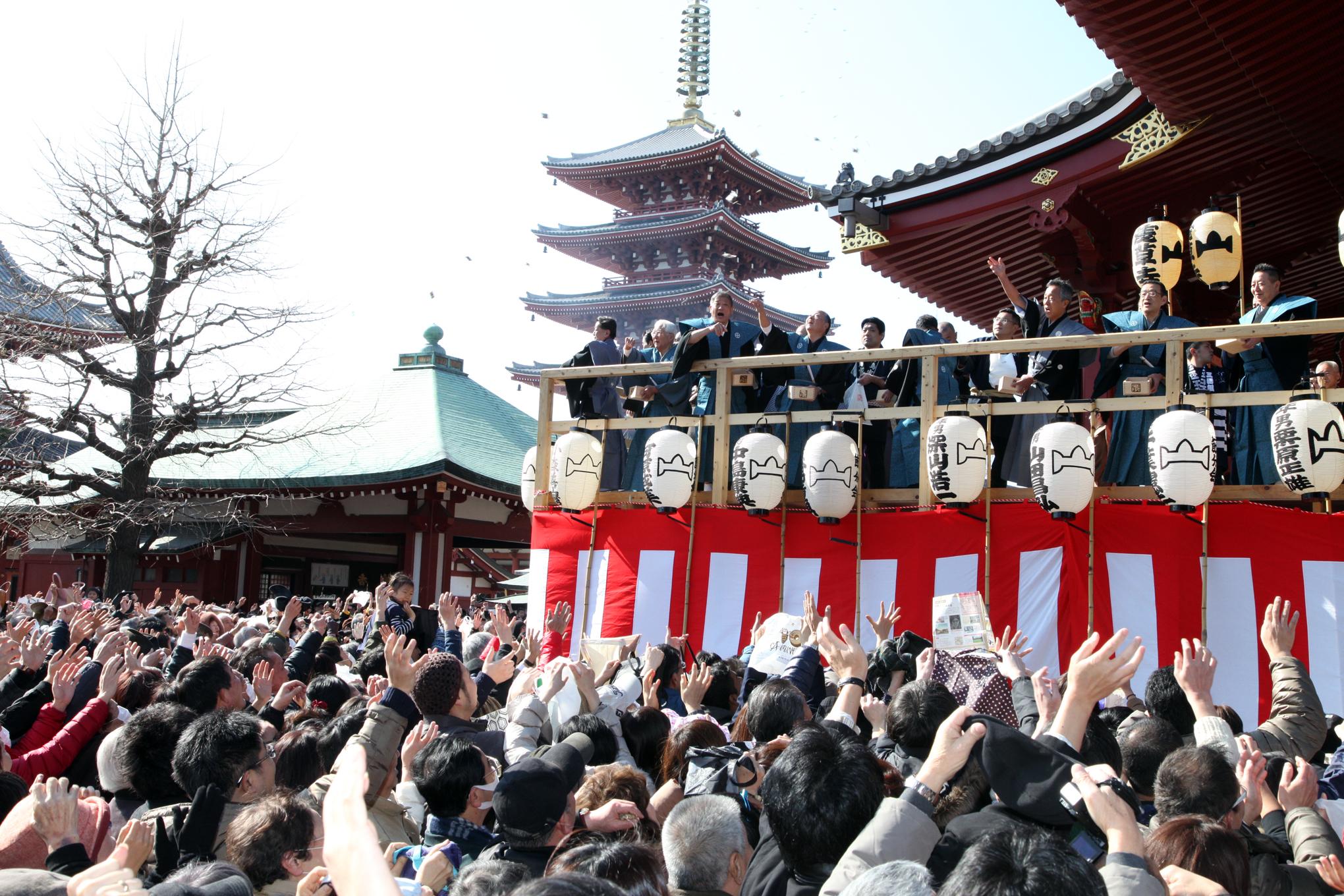 Setsubun at Sensoji | Time Out Tokyo