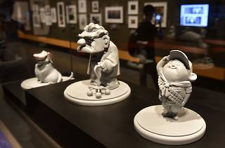 Pixar 30 Years of Animation figurines