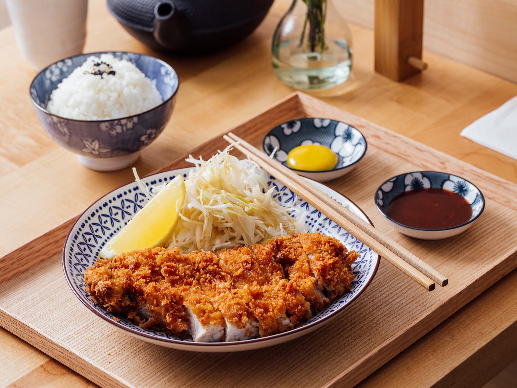 Katsu curry at Machiya