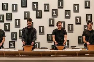 Sampler Sèries: Funktion + Frames Percussion. Alvin Lucier