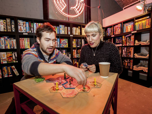 A Draughts board game café is opening in an old pie and mash shop
