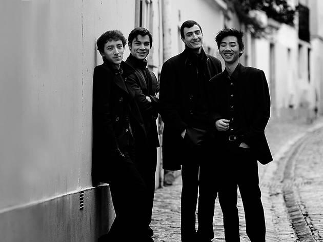 Nove obras-primas para quartetos de cordas