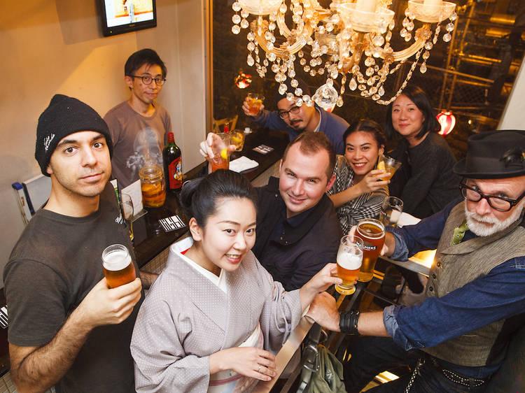 Tokyo's best tiny bars