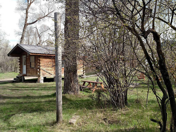 Irwin, ID: The cabin from the early 1900s