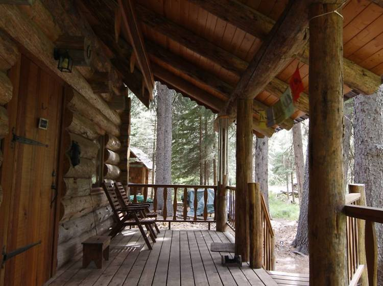 Bend, OR: The cabin near the waterfall